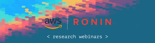 Research Computing with RONIN on AWS Webinar Series